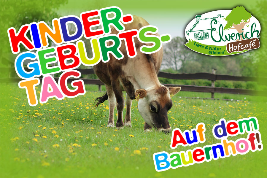 Kindergeburtstag auf Elverich | Hof Elverich